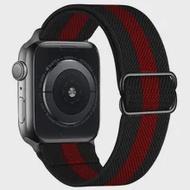 สำหรับ Apple Watch Band 44มม.40มม.38มม.42มม.ปรับ Scrunchie ไนลอน Solo Loop สร้อยข้อมือ IWatch Series 3 4 5 6 Se