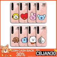 BTS BT21 Official Merchandise - Face Mirror Light Up Phone Case For Apple iPhone