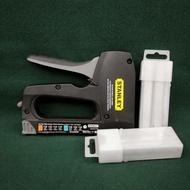 Stanley 鋁製專用電纜釘槍+ㄇ釘(二手)