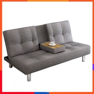 Mansfield multi-function fabric sofa bed simple modern small apartment single double folding sofa bedroom