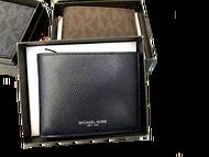 MK禮盒短夾 11x9.5cm 短夾 男夾 皮夾 錢包 男性包包