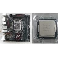 Intel CPU I7 6700 + 華碩主機板 ASUS Z170I pro gaming(二手良品)