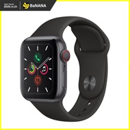 APPLE WATCH SERIES 5 GPS  CELLULAR 44MM SPACE GREY ALUMINIUM CASE WITH BLACK SPORT BAND by Banana IT