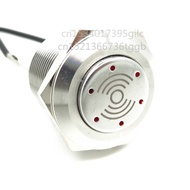 19Mm 22MMโลหะสแตนเลสBuzzer 12V24V220V LED Light 80dB Breaking Sound Alarm FaultโคมไฟChangming
