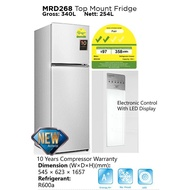 Midea Fridge Model (MRD268) (Net 270L) - (Refurbished)