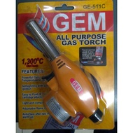 Gem All Purpose Gas Torch Gun For Butane (Random Design)