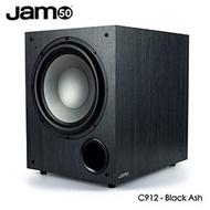 【缺貨】JAMO C912重低音喇叭(黑灰)