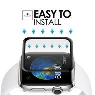 1Pcs 3Dขอบโค้งHDกระจกนิรภัยสำหรับIWatch Series 4 3 2 1 40มม.44มม.38มม.42มม.หน้าจอป้องกันฟิล์มสำหรับApple Watch