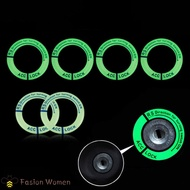 Universal Fit Luminous Ignition Engine Start Cover Key Hole Ring Decal Sticker