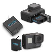Gopro Hero 5 6 7運動相機電池  副廠電池 TELESIN 充電 電池【GP006】