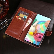 Samsung A51 A71 Flip Cover Wallet Leather Case