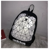 Classic wild Outdoor climbing Girls bag Adidas Backpack Adidas Backpack กระเป๋าเป้ Adidas