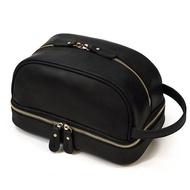 กระเป๋าเดินทางใบเล็กคุณภาพสูง,กระเป๋าหนังเครซี่ฮอร์สกระเป๋าตังค์สำหรับเดินทางกระเป๋าจัดเก็บของล้างเครื่องสำอางสำหรับเดินทาง