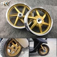 MOFO รถจักรยานยนต์ดัดแปลงล้อเบรคสำหรับ DIO AF18 AF27 AF28 Z4 ZX AF34 AF35 10 นิ้วอลูมิเนียมด้านหน้าด้านหลังล้อขอบ