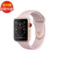 福利品 Apple Watch Series 3 GPS 42mm 太空灰鋁/黑運動 (全新未使用)