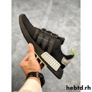 正版韓國代購Adidas NMD Boost 愛迪達黑白配色男女休閒氣墊鞋2019新款