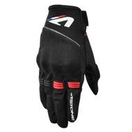 【ASTONE】KA21 (黑紅) 夏季透氣觸控手套