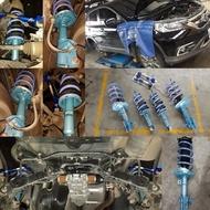 KYB藍筒避震器NEW SR[CRV、FIT、MAZDA2、FORTIS、TIIDA、MARCH、FORESTER]
