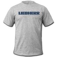 ผู้ชายฝ้าย T เสื้อ Liebherr Cranes Group เสื้อ Mining T