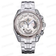 Casio Edifice รุ่น EF-550D-7AV สินค้าขายดี นาฬิกาข้อมือผู้ชาย สายสแตนเลส (ของแท้100% ประกันCMG)
