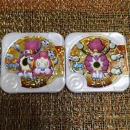 神奇寶貝  tretta 卡匣 特別02彈 金卡 黑卡 胡帕 2張一組  胡帕可打超夢