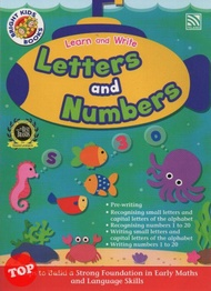 Bright Kids Books - Learn and Write - Letters and Numbers -2020