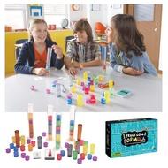 【華森葳兒童教玩具】數學教具系列-分數糖果棒 N1-EI3220