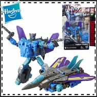 18cm Transformers Toys Generations Power of The Primes Deluxe Class Blackwing 14-step Deformation Action Figure Collectie Model