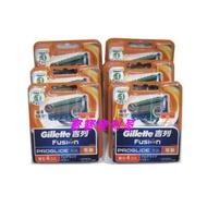 寶寶便利屋 Gillette 吉列 proshield 無感系列 動力 刀片(6盒2700)