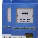 三色線轉HDMI, RCA to HDMI, AV線轉HDMI, RCA轉HDMI, AV to HDMI、AV轉HDMI轉換器