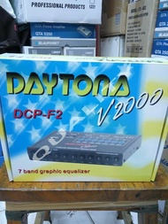 paramertik daytona 7 band graphic equalizer DCP-F2