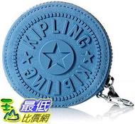 [8玉山最低比價網]  美國代購  Kipling瑪格麗特夢幻藍錢包