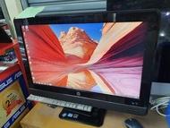 PC All in One HP core i5 sandy bridge ram 4gb hdd 500gb layar 23 inch second mulus
