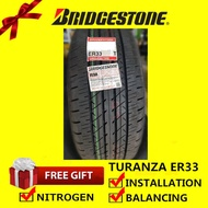 Bridgestone Turanza ER33 tyre tayar tire(With Installation)215/60R16 215/55R17