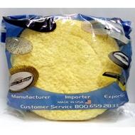 美國進口-黃色雙面羊毛輪(直徑-約24cmx5cm厚)合日製打腊機-適合拋光,細拋光,人造石-@750/片