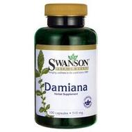[美國現貨] Swanson Damiana 達米阿那葉 510mg 100粒