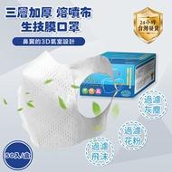 80入盒裝/ 台灣製 外銷日本美國 台灣製 全罩3D立體口罩 連鎖速食餐飲使用