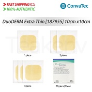 ConvaTec 187955 DuoDERM Extra Thin Dressing - 4 x 4 Inches, 1/2/3/10 piece