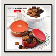 [Shop Malaysia] [Freshly Baked] Famous Amos Round cookies Tin 140g