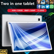 HD Samsung screen 11.6-inch tablet computer play big games office learning online class ultra thin dual card dual standby tablet computer Dual Band WIFI 5.0 Brand New Original Authentic