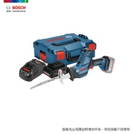 BOSCH 18V 超核芯鋰電軍刀鋸 GSA 18 V-LI C 4.0Ah 工具箱套裝