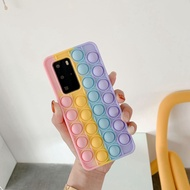 Realme C25 C15 C12 C11 Narzo 30A 5 5i 6i 5s C3 X2 XT FoxMind Last Mouse Lost POP It Phone Case Cover