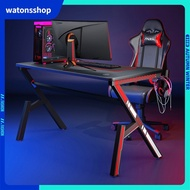 Watons gaming table and chair combination set desktop simple professional gaming table