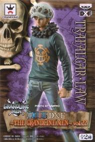 台灣代理版 DXF GRANDLINE MEN VOL.22 單售 托拉法爾加 羅 海賊王 航海王 公仔