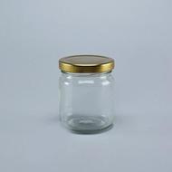 ขวดแก้ว โหลแก้ว กระปุกแก้ว ใส่น้ำพริก ทรงกลม 7 oz / 210ml.