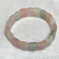 摩根石 天然 冰種 摩根石手排 手排 馬卡龍 粉嫩色系