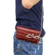 OPPO R9plus Pouch R11 Belt Leather Case A59S Hang Wallet A57 Phone 33 Wear Belt Fashion Man