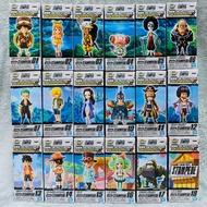 全新 代理版 wcf  One Piece 海賊王 劇場版 Vol.1 Vol.2 Vol.3 巴雷特 佛朗基 艾斯