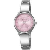 【LICORNE】力抗 都會女伶時尚女性腕錶(粉 LT027LWPS)