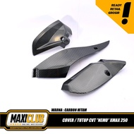 variations of the XMAX CVT protective cover the engine side of the nemo xmax carbon xmax accessories